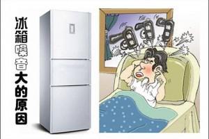 冰箱噪音大,对我们的休息造成了很大的影响,到底是什么原因造成的噪音呢?